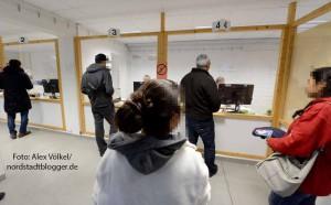 27 aller in Deutschland ankommenden Asylbewerber durchlaufen die EAE Hacheney.