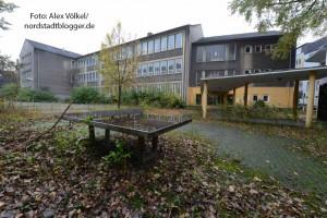 In der ehemaligen Abendrealschule in der Adlerstraße soll eine Notunterkunft eingerichtet werden.