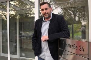 André Groß, Leiter des neuen Wohnheims der Arbeiter-Wohlfahrt (AWo)) für Behinderte an der Hirtenstraße 24 in Dortmund
