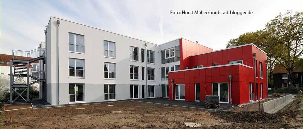 Ein neues Wohnheim für 24 Behinderte baut die Arbeiter-Wohlfahrt (AWo) an der Hirtenstrasse 24 in der Nordstadt.