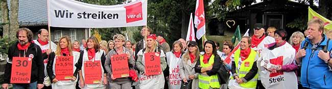 """Am 9. und 10. Oktober Warnstreik bei der AWO in NRW – ver.di: """"Verband will Erzieherinnen schlechter stellen"""""""