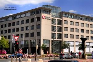 An der Steinstraße ist die Zentrale von Arbeitsagentur und JobCenter.