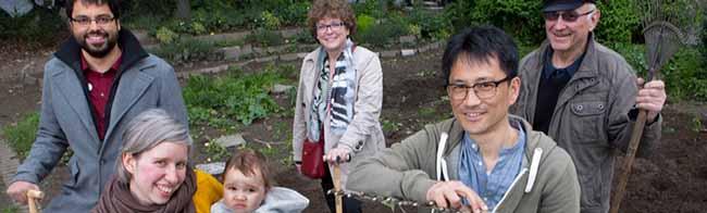 Bunter Garten Nord: Beim gemeinsamen Gärtnern kommen die unterschiedlichen Nationen ins Gespräch