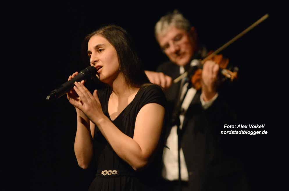Das Dotschy Reinhardt Ensemble sorgte für Musik.