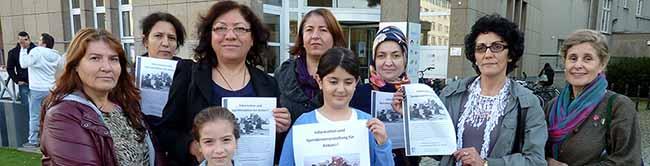 Migrantinnenverein Dortmund organisiert Informations- und Spendenveranstaltung für die Menschen in Kobane
