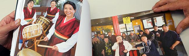 Nordstadt mit 2500 freundlichen Gesichtern: 106 Gruppenportraits in Buchform und als Ausstellung