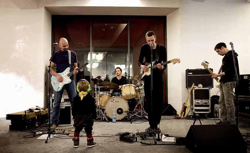 """Sisterkingkong stellen ihr Album """"Daily Grind"""" vor. Foto: Yoko Dupuis/ Veranstalter"""