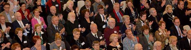 Auslandsgesellschaft feiert 65. Geburtstag: Rund 500 Gäste beim Jubiläum in der Bürgerhalle des Rathauses