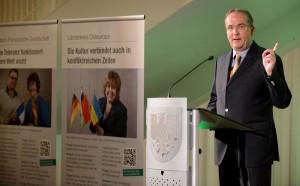 Präsident Klaus Wegener hat maßgeblichen Anteil am Umbau der Auslandsgesellschaft.