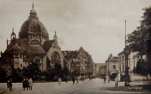"""Die alte Dortmund Synagoge: Wilhelm Schmieding sprach bei der Einweihung im Jahr 1900 stolz von einer """"Zierde für die Stadt"""" und wünschte sie sich """"für Jahrhunderte erbaut""""."""