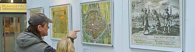 Ausstellung in der Berswordthalle.