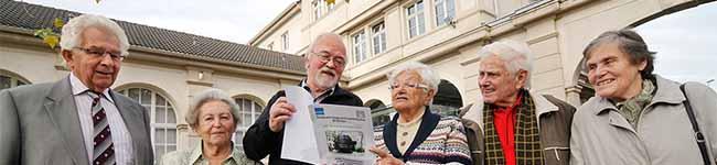 """Die """"fetten Jahre"""" bei Hoesch: """"Thomasmänner"""" aus der Nordstadt auf Erholungsurlaub im Tecklenburger Land"""