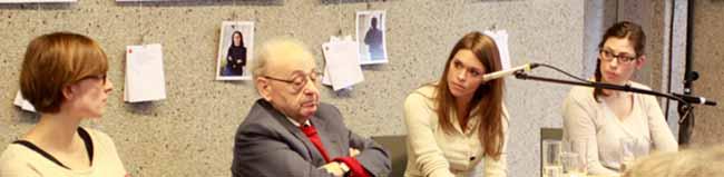 Heimatsucher laden zum Zeitzeugengespräch zur Judenverfolgung mit Rolf Abrahamsohn ins Borusseum ein