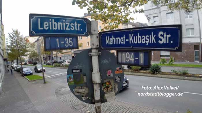 Kein offizieller Beschluss, sondern eine symbolische Aktion ist Straßenbenennung für Mehmet Kubasik. Sie stand nicht auf der Tagesordnung.