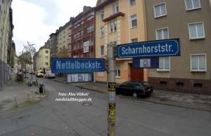 Nettelbeck ist als Namenspatron umstritten.