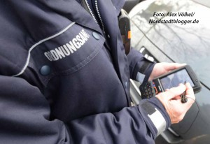 Die Verkehrsüberwachung ist auch mit neuen Uniformen ausgestattet worden.