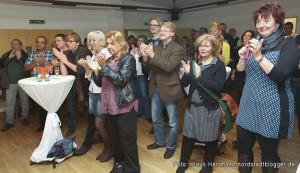Verabschiedung von Walter Klamser, Soziales Zentrum Westhoffstraße, in den Ruhestand. Viele sind gekommen