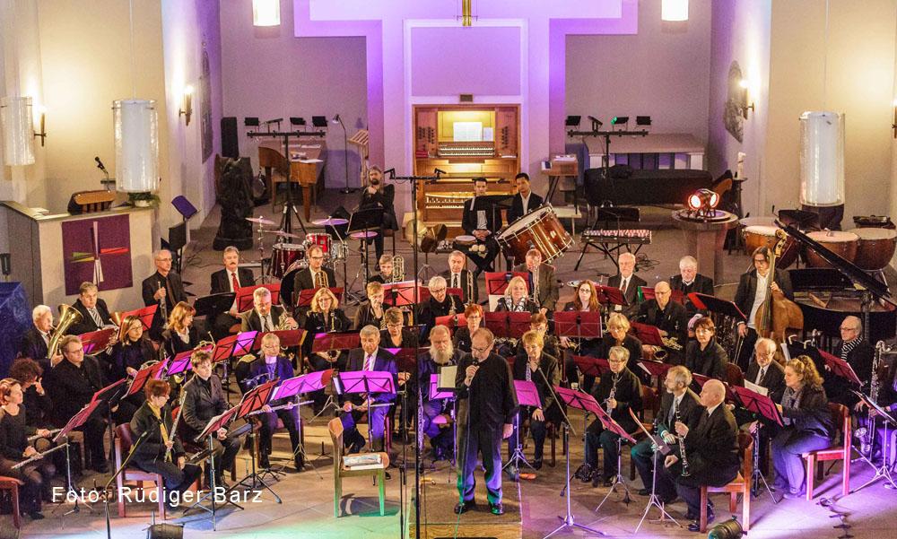 Benefizkonzert Bläserorchester AufWind der Musikschule Dortmund in der Pauluskirche