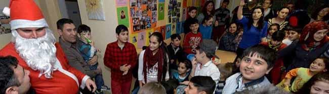Weihnachtsbescherung für Neueinwandererkinder im Interkulturellen Zentrum der AWO in der Nordstadt