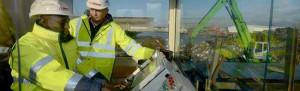 Paul aus Mali hat bei TSR Recycling einen Ausbildungsplatz gefunden. Neven Subotic hat ihn dort besucht.