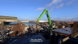TSR Recycling im Dortmunder Hafen