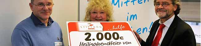 Verlässliche Spende macht Wohnungslosen-Weihnachtsfeier der Diakonie in Dortmund  möglich