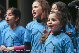 Musik im Advent mit Verleihung der Engel der Nordstadt im Dietrich-Keuning-Haus. Chor der Diesterweg-Grundschule