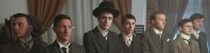 Letzte Dreharbeiten zum Film: Am Borsigplatz geboren, Franz Jacobi und die Wiege des BVB am Originalschauplatz. Die Gründer des BvB im Film