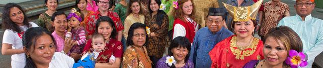 Indonesisches Forum:  Auf die Gemeinschaft kommt es an – Spenden für die alte Heimat und indonesische Traditionen