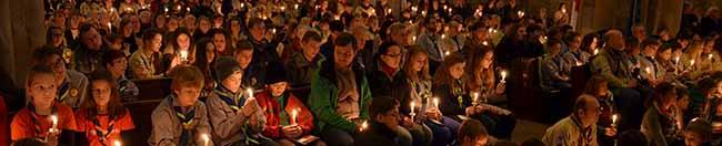 Das Friedenslicht aus Betlehem wird am kommenden Sonntag von der Nordstadt aus in westfälische Kirchen entsandt