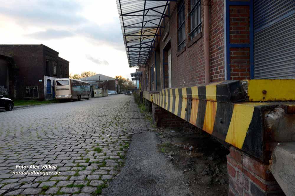 Die Speicherstraße am Hafen in der Dortmunder Nordstadt soll entwickelt werden.