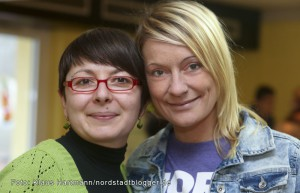 """Die beiden """"Chefredakteurinnen"""" Yevgeniya Yablonska und Annemarie Skubsch"""