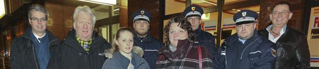 Ullrich Sierau und Dezernentin Diane Jägers danken den Mitarbeitern der Task Force Nordstadt und ziehen Bilanz