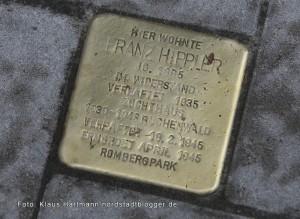 Stolpersteine, Erinnerung an die Ermordeten im Nationalsozialismus wurden in der Nordstadt verlegt