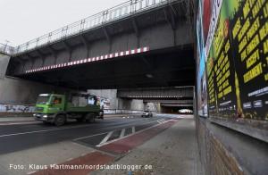 Unterführung Brinkhoffstraße bekommt Farbe. Im Januar soll es mit der Gestaltung der Nordwestpassage losgehen