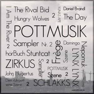 Das Cover des zweiten Pott-Musik-Samplers.