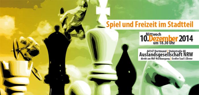 Dortmund international und weltoffen - Nord trifft Süd Thema: Spiel und Freizeit im Stadtteil