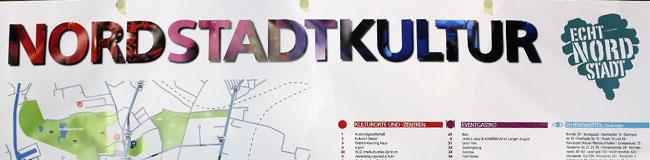 Nordstadt-Kultur: Neue Banner und Plakate präsentieren kulturelle Highlights im Stadtbezirk