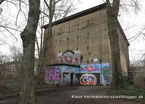 Der Bunker an der Gneisenaustraße