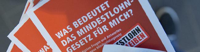 DGB und Kooperationsstelle Wissenschaft-Arbeitswelt ziehen im Wichernhaus eine erste Bilanz zum Mindestlohn