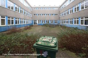 In Eving wurde der Bevölkerung die Flüchtlingsunterkunft in der ehemaligen Hauptschule vorgestellt