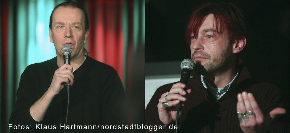 1. Treffen des Musikstammtisch Dortmund im Fritz-Henßler-Haus. Organisatoren Michael Batt und Didi Stahlschmidt vom Kulturbüro