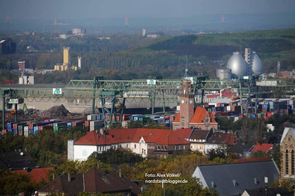 Stadtansicht Nordstadt Hafen CTD