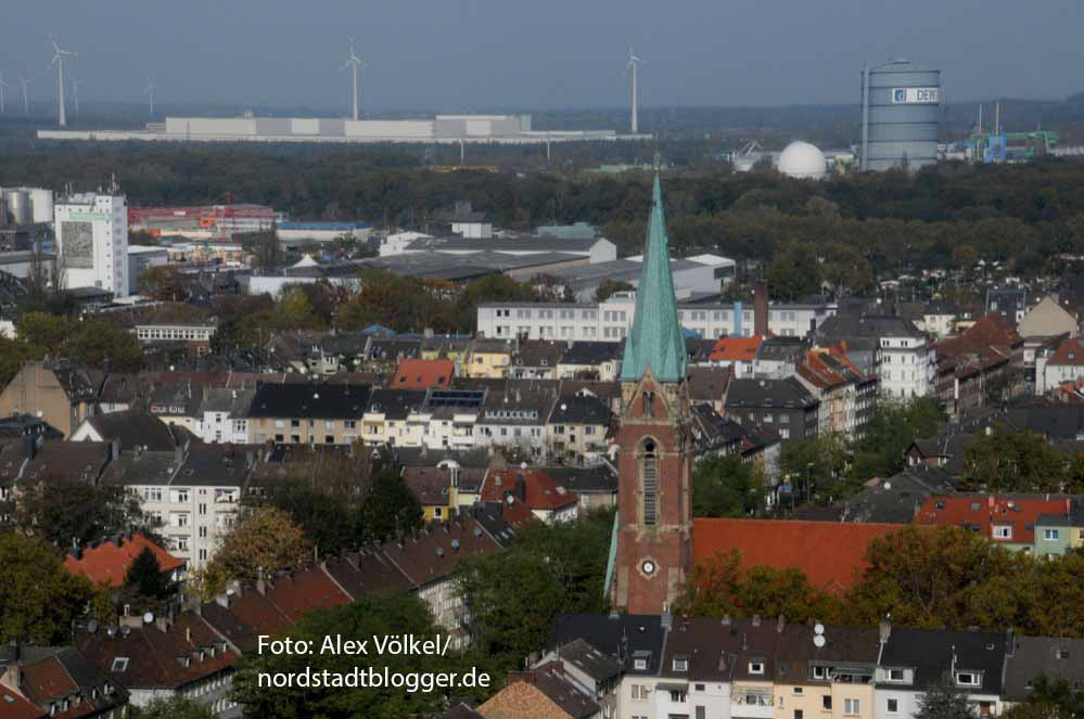 Stadtansicht Nordstadt Pauluskirche