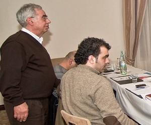 Dr. Khalil Bajbouj (links) ist Kinderarzt in Dortmund und Vorsitzender des Vereins.