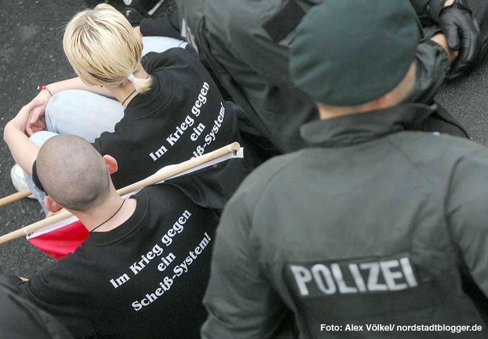 Neonazis versuchen seit Jahren, ihre Ziele durchzusetzen - gegen die Zivilgesellschaft und die Polizei.