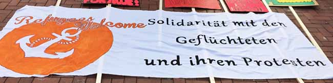 """Refugees Welcome""-Demonstration am 26. September in Dortmund: ""Solidarität mit ALLEN Geflüchteten"""