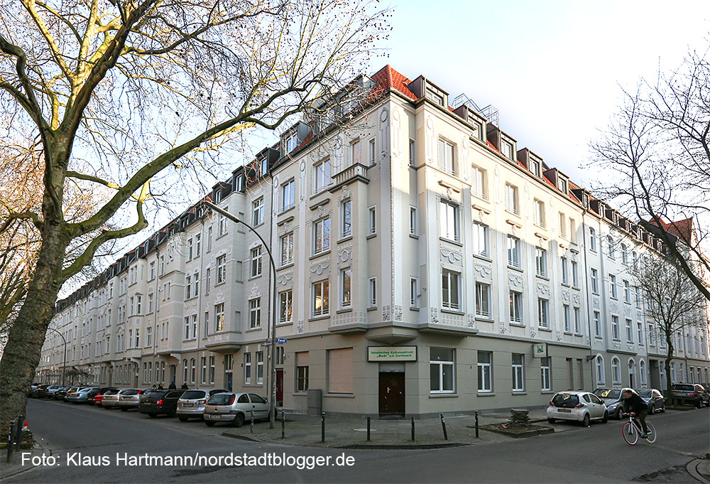 Blickfang Schüchtermanncarree, Wohnqualität lockt Mieter in die Nordstadt. Ecke Alsen- Schüchtermannstraße