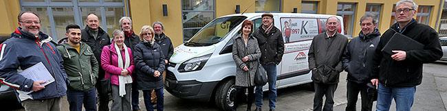 Sponsoring durch Dortmunder Unternehmen verschafft der Stiftung Soziale Stadt in der Nordstadt neuen Kleinbus
