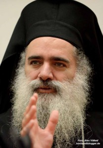 Seine Eminenz Theodosios, Erzbischof von Jerusalem